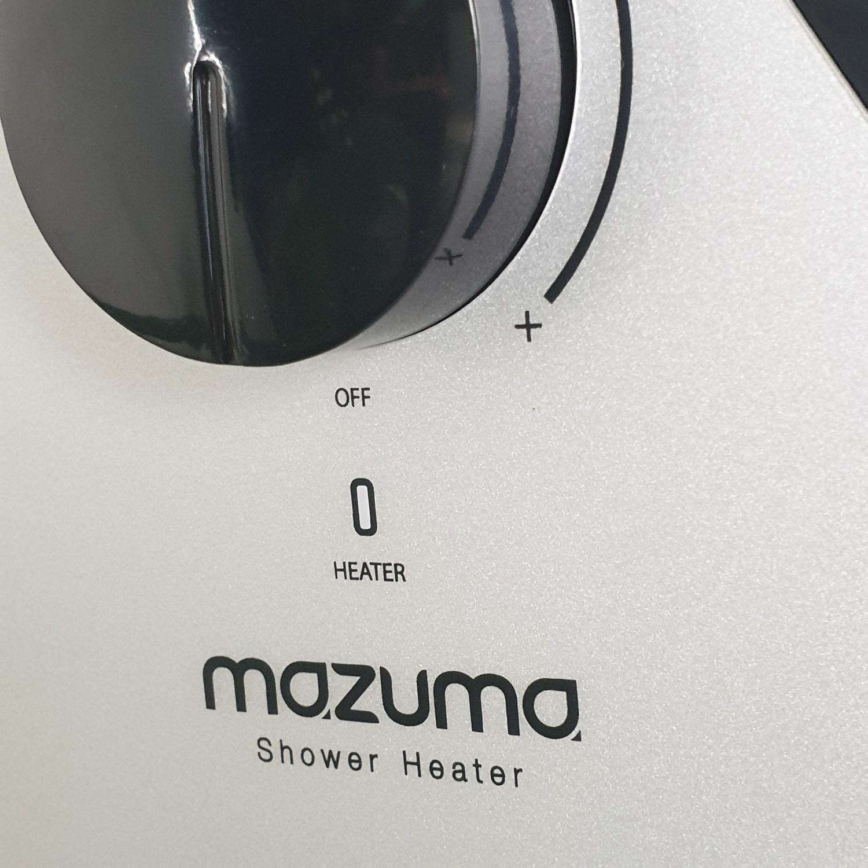 MAZUMA เครื่องทำน้ำอุ่น DX 4500 W สีดำ
