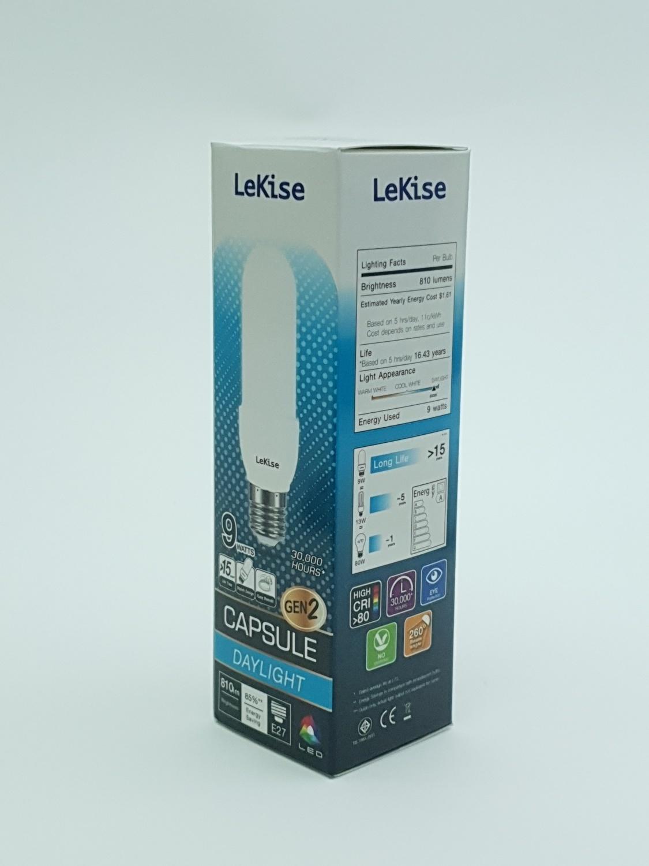 LEKISE หลอดไฟ LED Capsule 9W DL GEN2 สีขาว