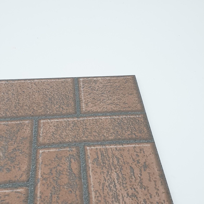 Bellecera 12X12 ลานแพทเทิร์น-บราวน์ (A) FLOOR TILE