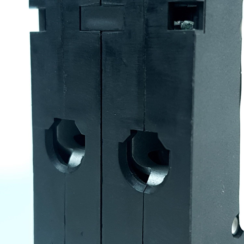 SCHNEIDER เมนเบรคเกอร์ 2P 50A 10KA QO250VSC10T สีดำ