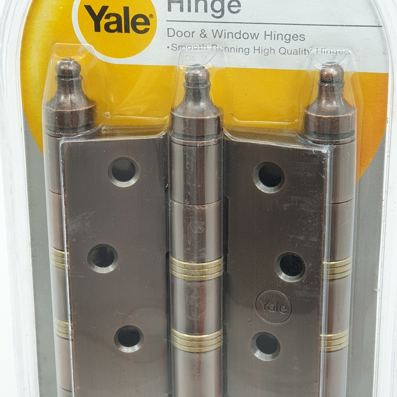 YALE บานพับประตู แกนใหญ่หัวจุก HIAC43XP3