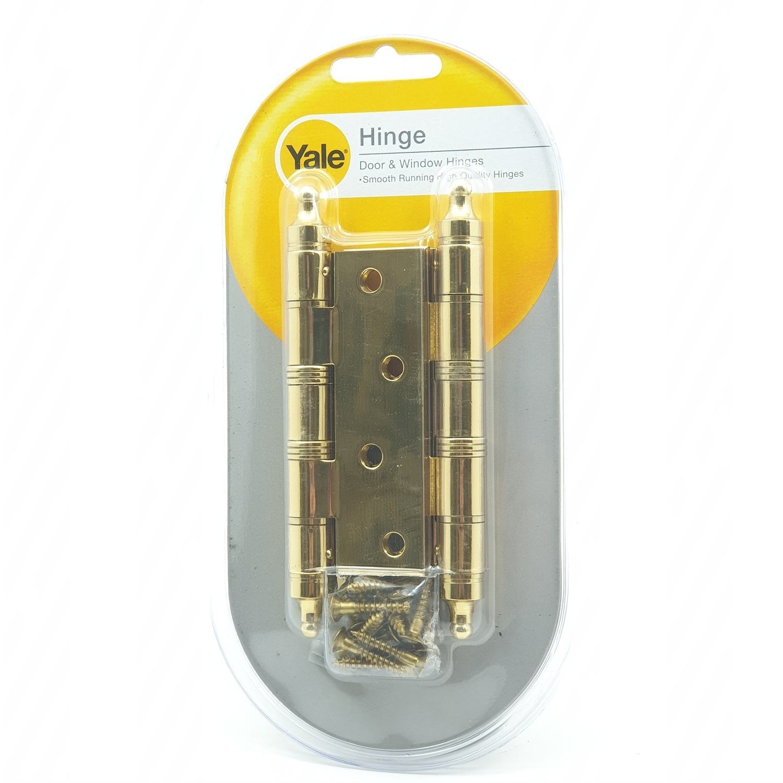 YALE บานพับประตู แกนใหญ่หัวจุกมีหมุด HIPB43