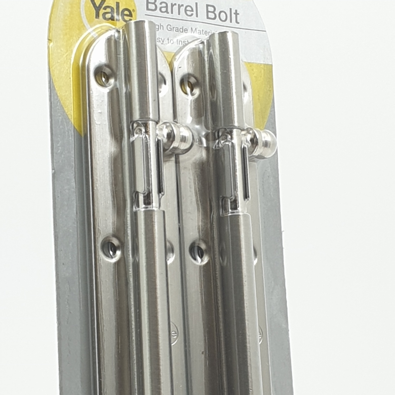 YALE กลอนประตู (2อัน/แพ็ค) BA90706SNP2