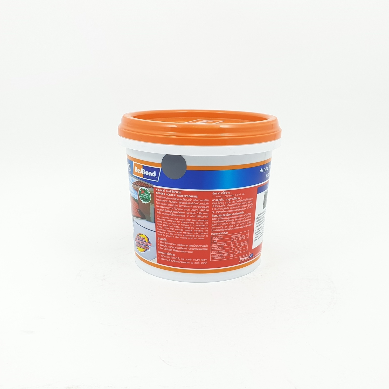 BESBOND อะคริลิคกันซึม 1 kg สีเทา