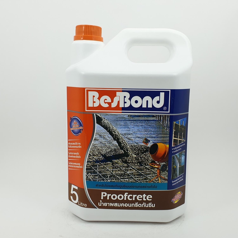 BESBOND น้ำยาผสมคอนกรีตกันซึม 5ลิตร
