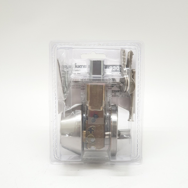 COLT กุญแจลิ้นตาย  COLTLITE #9301 ซิงเกิ้ล SS (แผง)