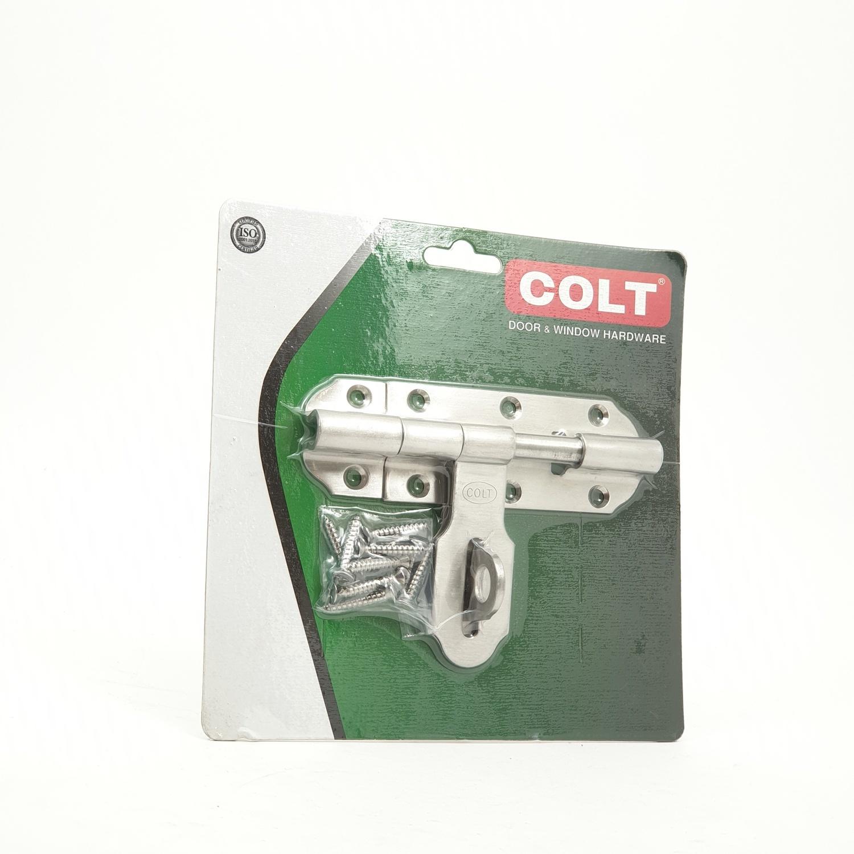 COLT กลอนขวาง ขนาด 4 นิ้ว x 2 มม. แกน 3/8 - SS