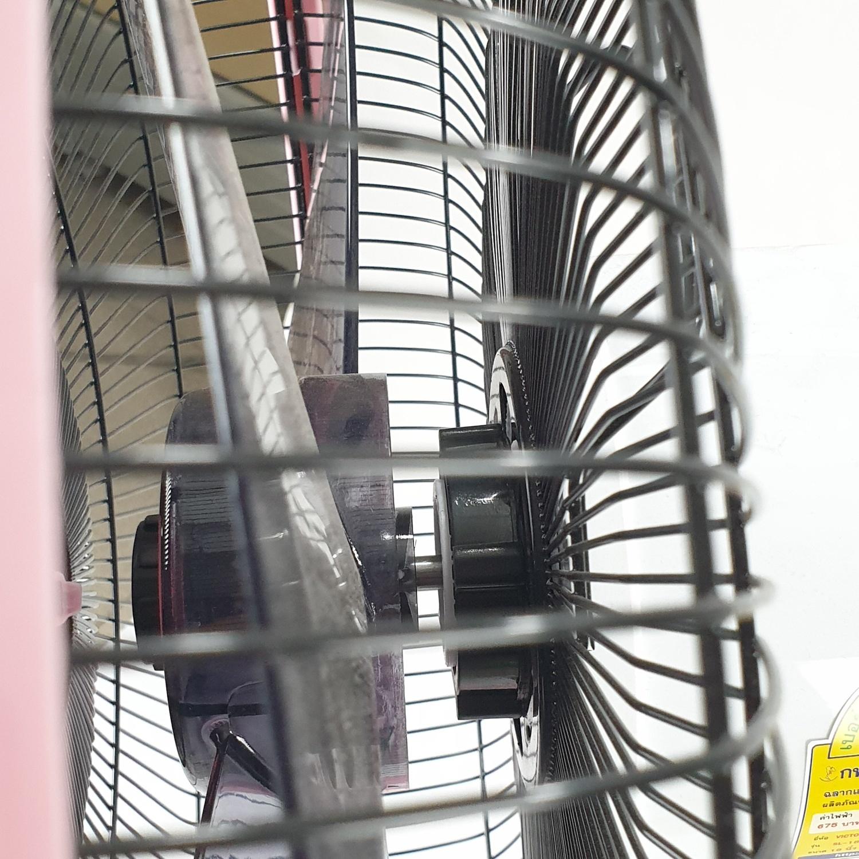 Victor พัดลมสไลด์ขนาด 18 นิ้ว  SL-182 สีชมพู
