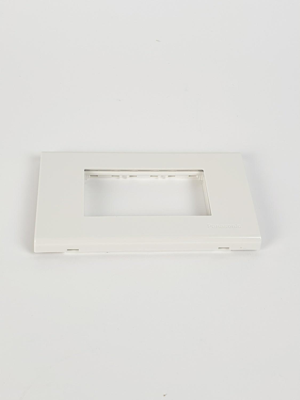 ฝาพลาสติก 3 ช่อง WEG6803WK  NO COLOR