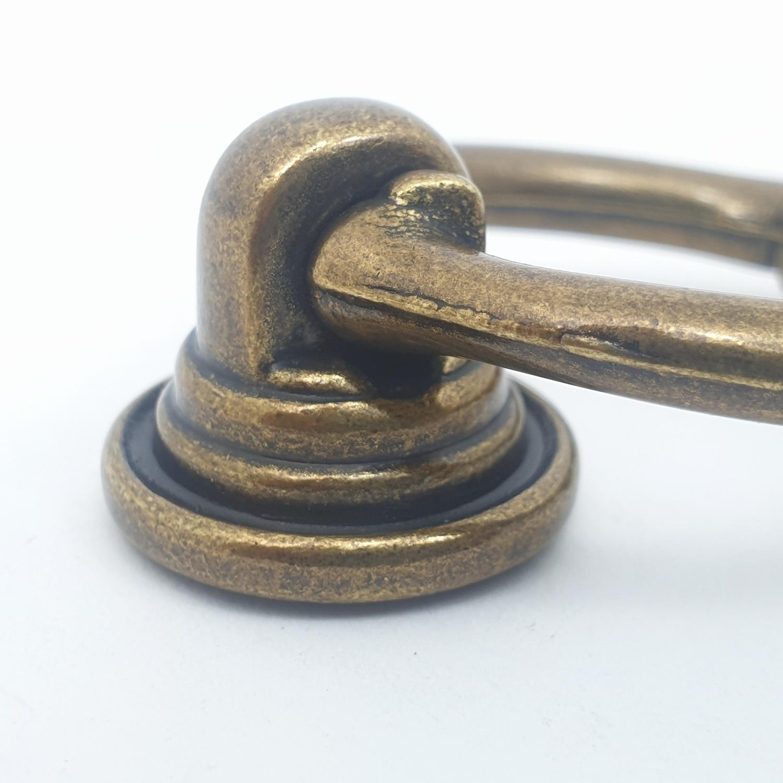 HAFELE มือจับ ขนาด 32x45 มม 481.21.228 ทองเหลืองรมดำ
