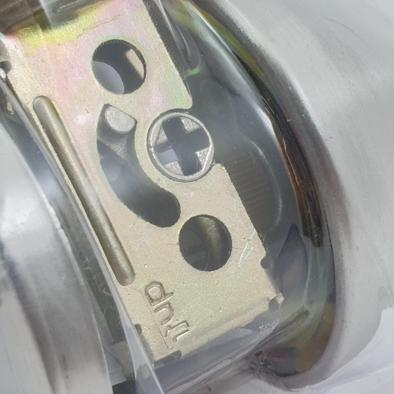 HAFELE กุญแจ ลิ้นตาย - หางปลาบิด 489.10.500 สเตนเลส