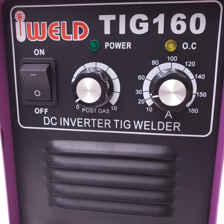 IWELD เครื่องเชื่อม TIG 160 PURPLE