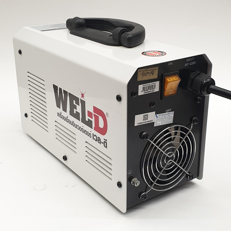 WEL-D เครื่องเชื่อม INVERTER   MMA 160