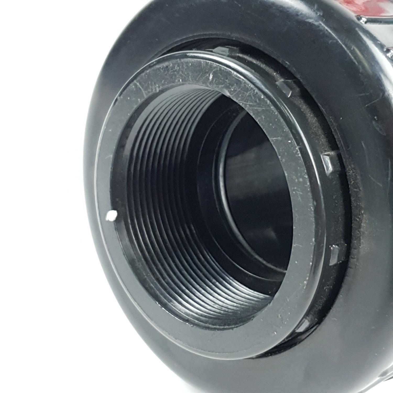 Super Products วาล์ว ABS อย่างดี 3/4 นิ้ว LV ดำ