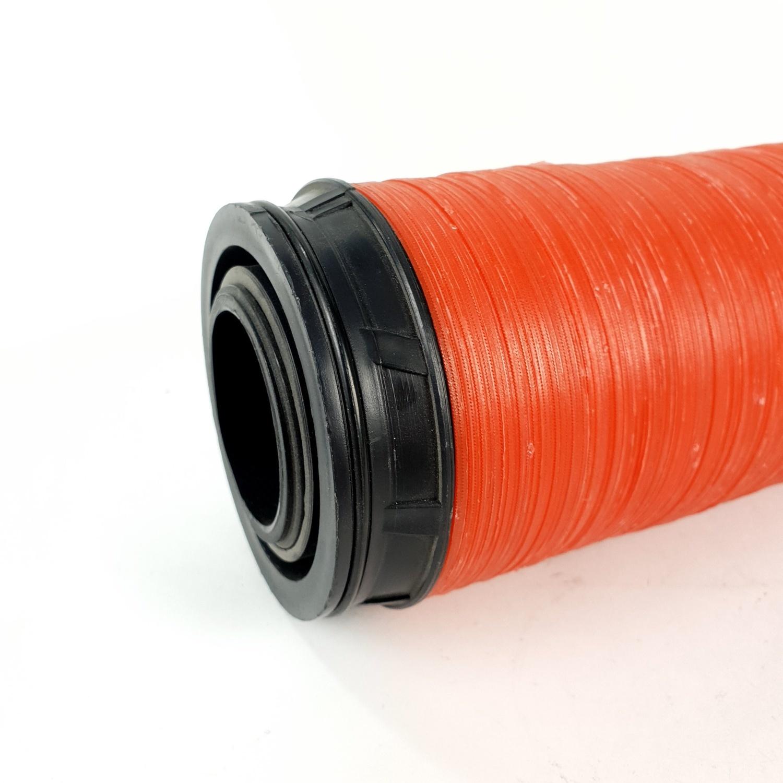 Super Products ไส้กรองน้ำ แผ่นดิสก์ 2 นิ้ว รุ่นยาวพิเศษ DF แดง