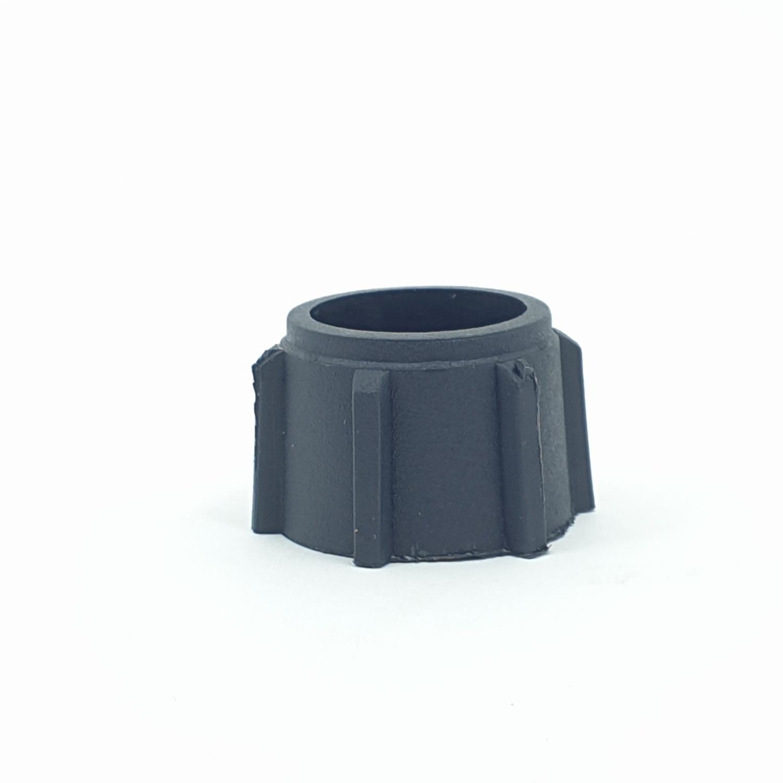 Super Products คลิปล็อคท่อพีอี 20 มม. (10 ตัว / แพ็ค) PE C ดำ