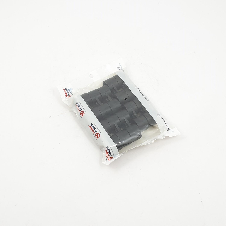 Super Products ตัวรัดปลายท่อ 16 มม. (10 ตัว / แพ็ค) DC ดำ