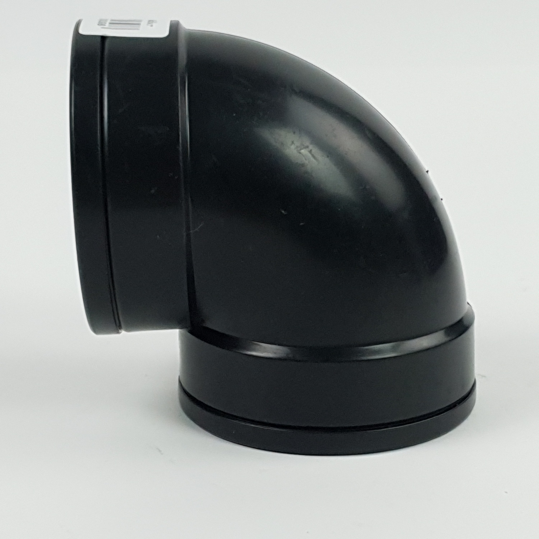 Super Products ข้องอเกลียวใน 2นิ้ว EF  ดำ
