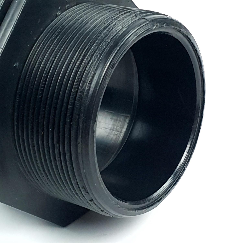 Super Products นิปเปิ้ลเกลียวนอก 2นิ้ว 354-13200 ดำ