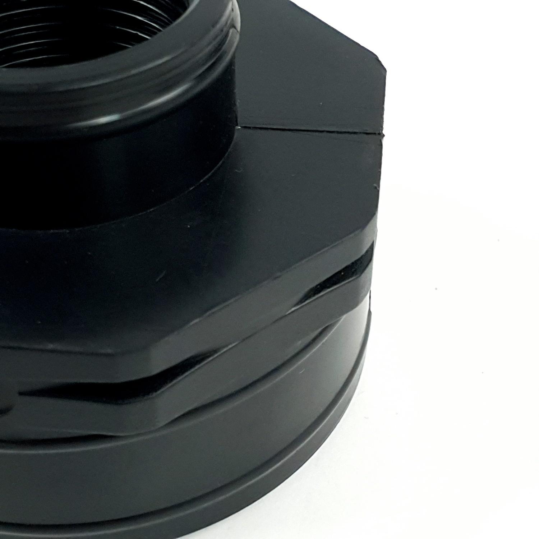 Super Products ข้อลดกลมเกลียวใน 2x1นิ้ว RS ดำ