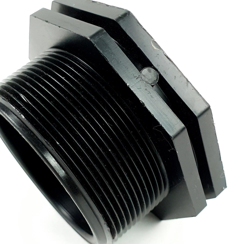 Super Products ปลั๊กอุดเกลียวนอก 2.1/2นิ้ว EPM ดำ