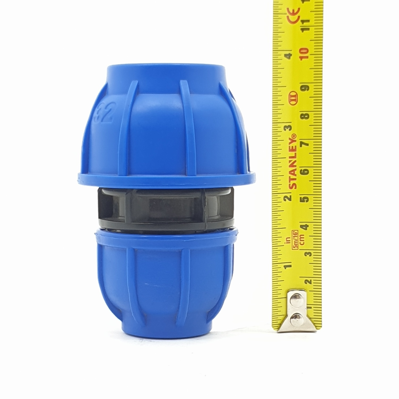 Super Products ข้อต่อตรงลด 32x25มม.(220) 220 ฟ้า