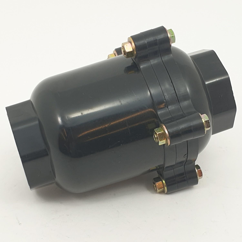 Super Products วาล์วกันน้ำย้อนกลับ 2 นิ้ว CV-N ดำ