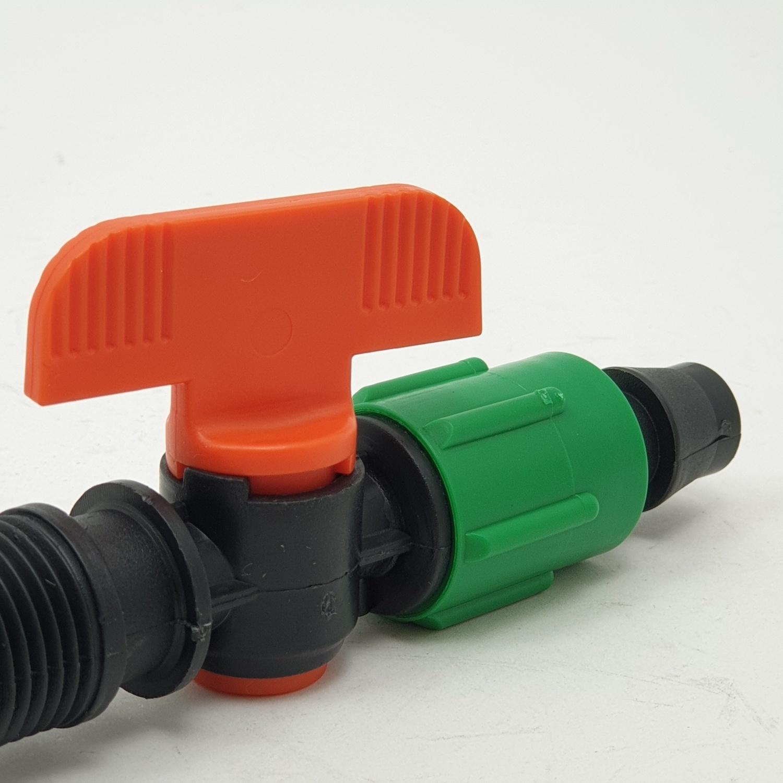 Super Products TV2 วาล์วสำหรับเทปน้ำหยดเกลียว1/2นิ้ว (5/แพ็ค)