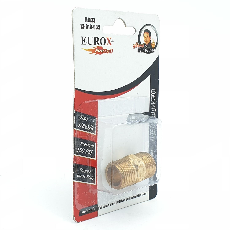 EUROX นิปเปิ้ล 3-3หุน ทอง