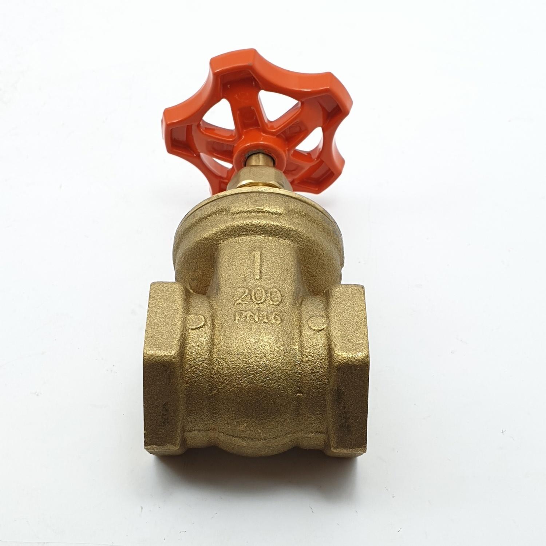 ANA ประตูน้ำ ANA 1 ก5D104-0-025-050-5-B ทองเหลือง