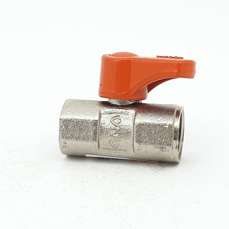 ANA มินิบอลวาล์ว 1/2 ก5A110-1-015-240-5-B นืเกิ้ล