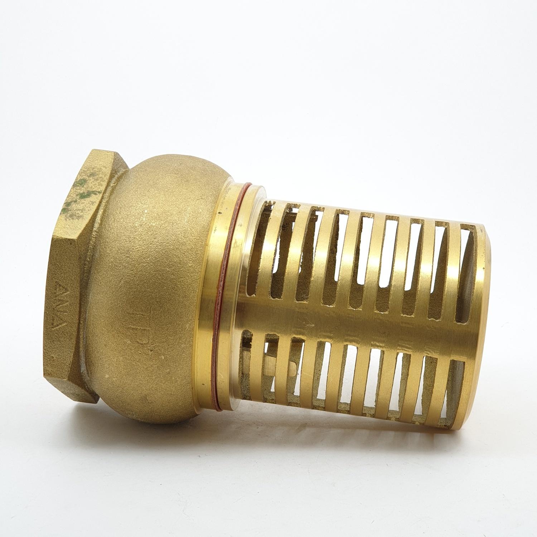 ANA ฟุตวาล์ว 1.1/2 ก5F121-0-040-000-5-B ทองเหลือง