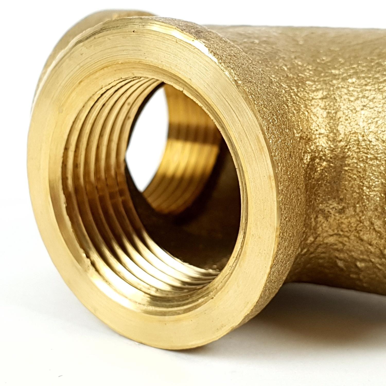 ANA สามทางทองเหลือง.3/4นิ้ว TP-TEE304