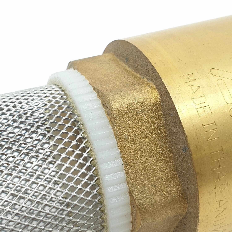 ANA ฟุตวาล์วสปริง (รุ่นถอดได้) 1.1/2 ก5F116-0-032-000-5-B ทองเหลือง
