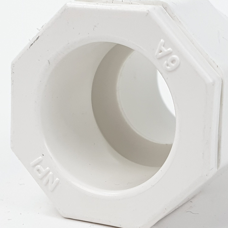 SCG ข้อต่อเข้ากล่อง 3/8นิ้ว ขาว