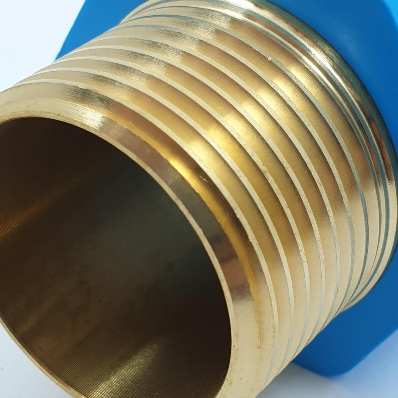 SCG ต่อตรงลดเกลียวนอกทองเหลือง-หนา ฟ้า 25x18 ต่อตรงลดเกลียวนอกทองเหลือง-หนา ฟ้า 25x18