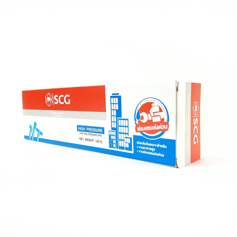 SCG  น้ำยาประสานท่อ  เข้มข้น 125 กรัม  สีขาว