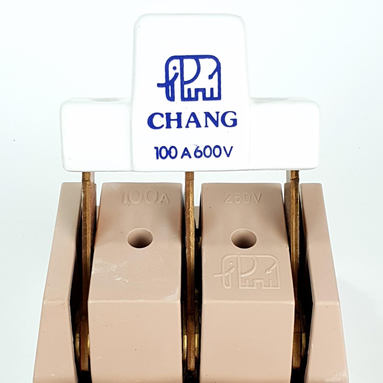 CHANG คัทเอ้าท์ช้าง-3P-100A ช้าง 3P-100A.
