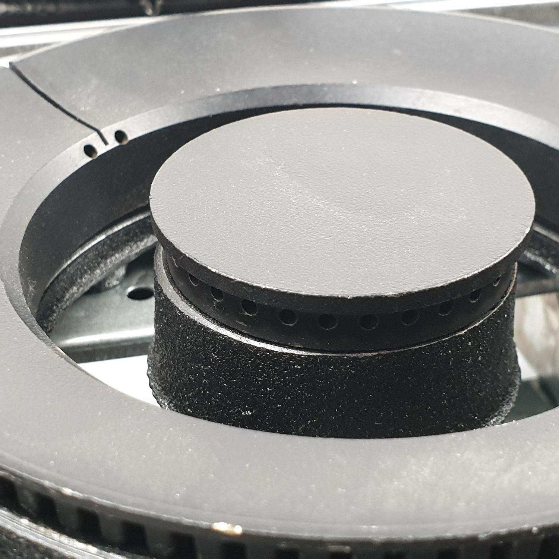 MEX เตาแก๊สตั้งโต๊ะ 2 หัว PC727CB สีดำ
