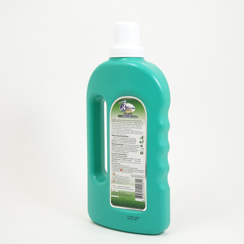 SPA CLEAN น้ำยาฆ่าเชื้อแบคทีเรีย-ดับกลิ่น 1000 มล. กลินไฮจีนิก ซอฟท์ สีเขียว