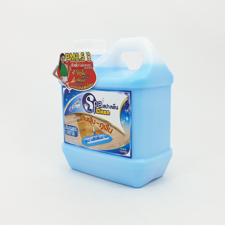 SPA CLEAN สปาคลีน ดันฝุ่น-ถูพื้น 1000มล. คูลลิ่งเฟรช