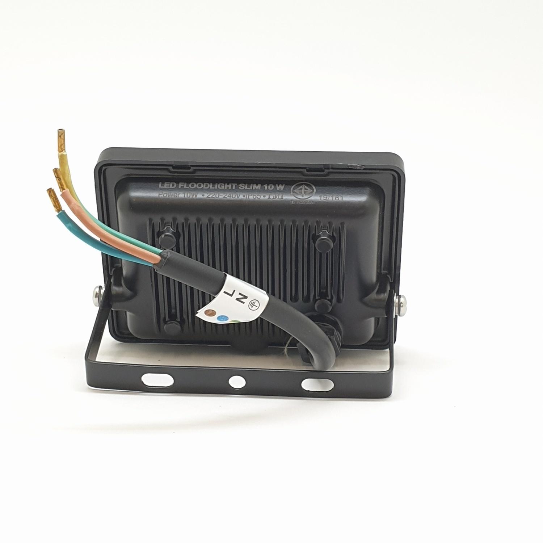 GATA โคมฟลัดไลท์ LED 10W  วอมม์  (สว่างพิเศษ) - สีดำ