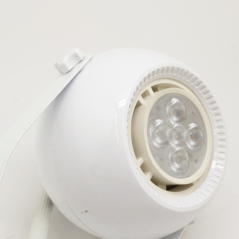 GATA โคม LED ทรงกลม ฐานกระบอก 5W Tracklight (TL04)ฐานกระบอก 5W. Warm สีขาว