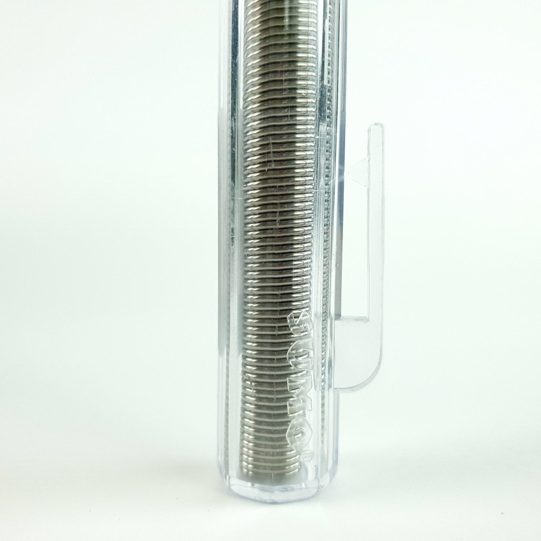 SUMO ตะกั่วเส้น ชนิดหลอดปากกา 60/40 1.2มม.  - เงิน