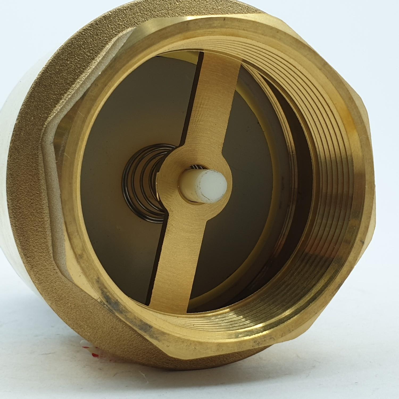 PP ฟุตวาล์ว สปริงทองเหลือง  ขนาด 2 นิ้ว -