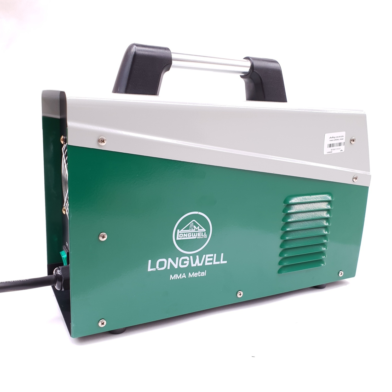 LONG WELL เครื่องเชื่อมไฟฟ้า ระบบอินเวอร์เตอร์ MMA-200 METAL