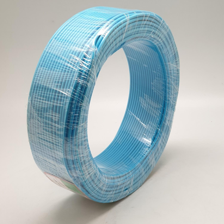 RACER สายไฟ IEC01 THW 1x1.5 Sq.mm100M.สีฟ้า  - สีฟ้า