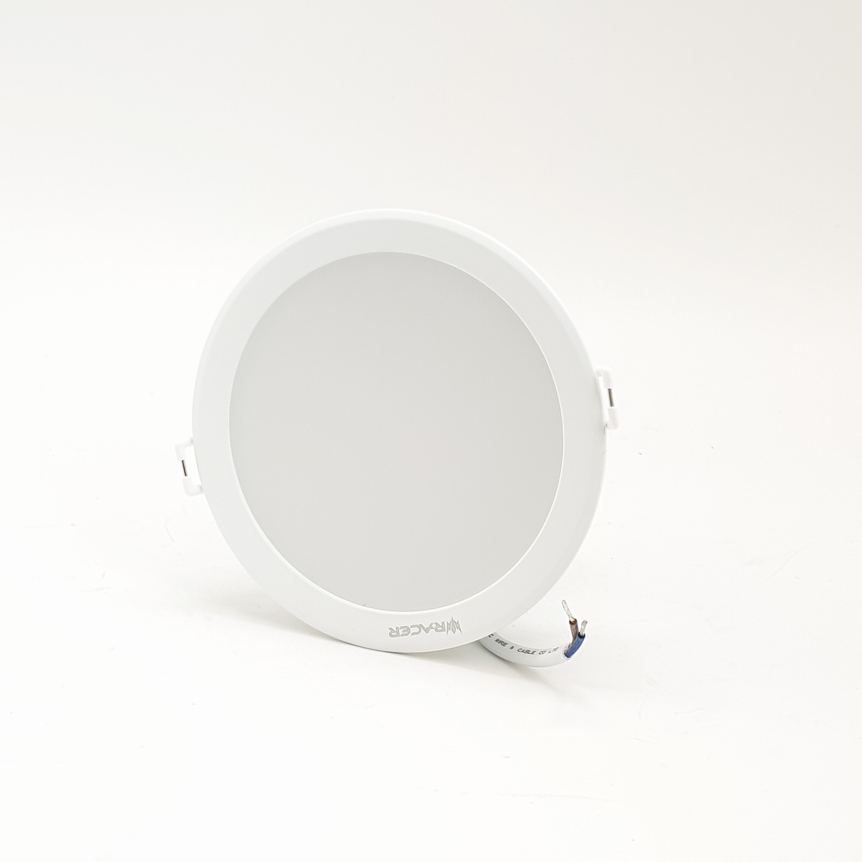 RACER แอลอีดี ดาวน์ไลท์ อีโวเท็ค  9วัตต์  แสงขาว LED DOWNLIGHT   EVO TECH  9W  DL สีขาว