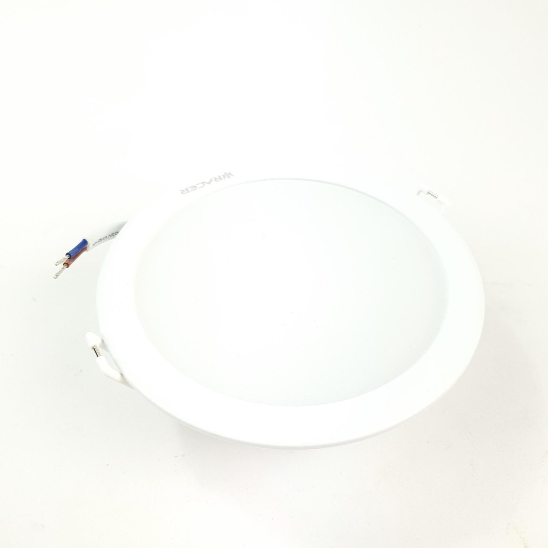 RACER แอลอีดี ดาวน์ไลท์ อีโวเท็ค  9วัตต์  แสงเหลือง LED DOWNLIGHT EVO TECH 9W   WW สีขาว