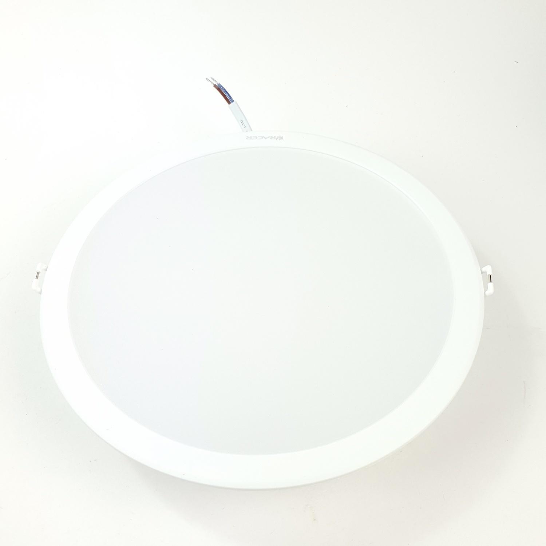 RACER แอลอีดี ดาวน์ไลท์ อีโวเท็ค  24 วัตต์  แสงขาว LED  DOWNLIGHT   EVO TECH  24W  DL สีขาว